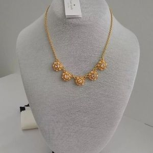 Kate Spade Putting on the Ritz Crystal Necklace